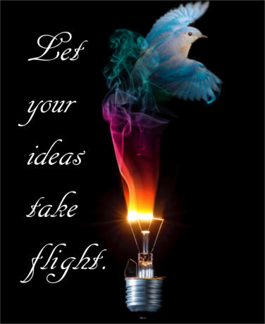 Let your ideas take flight